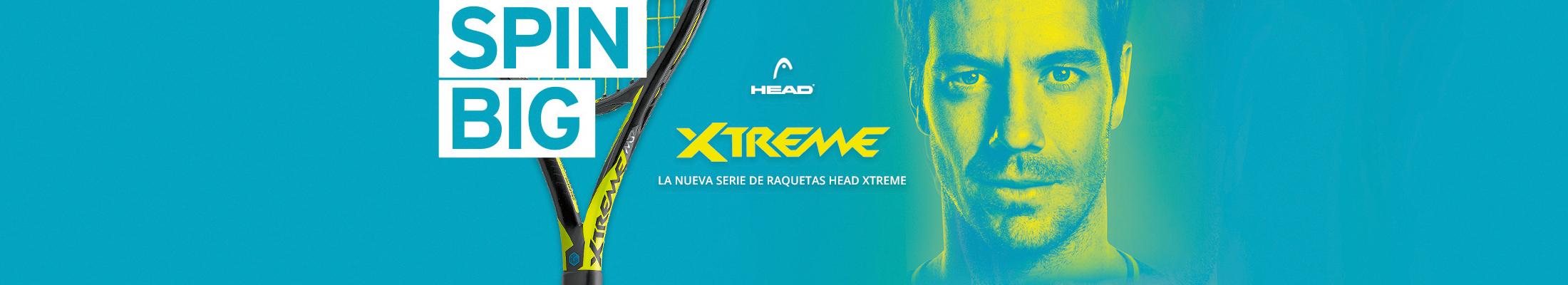 Head Xtreme raquetas