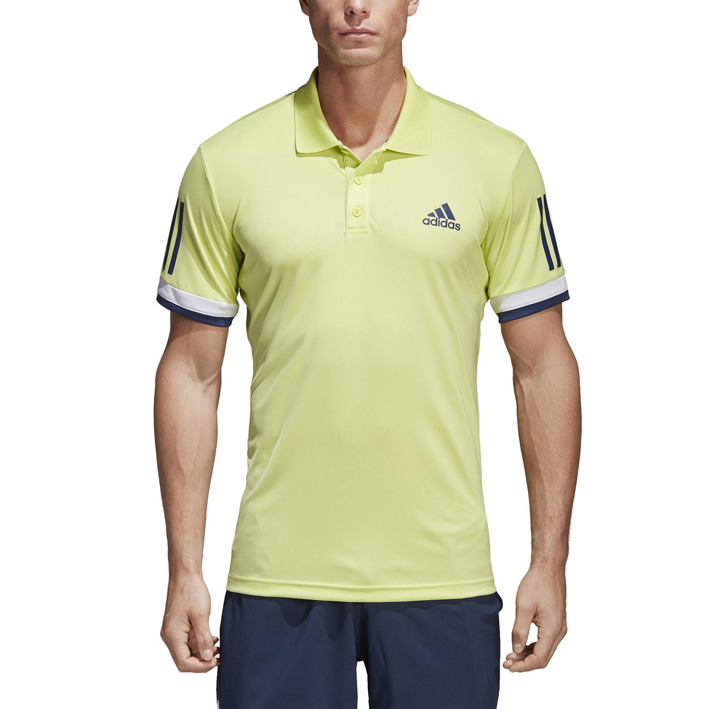 Adidas Club 3 Stripes Polo