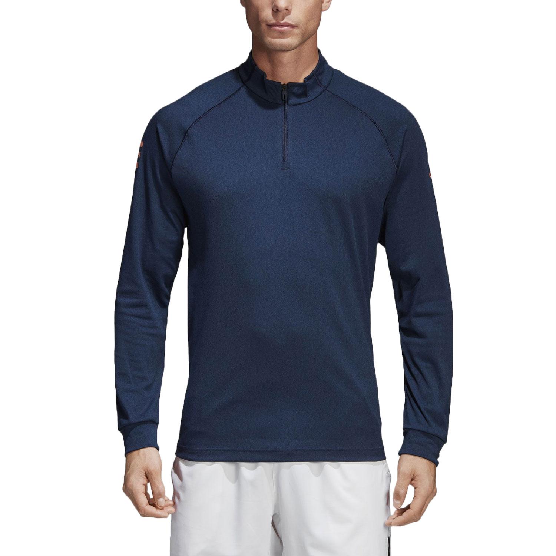 Adidas Club Midlayer 1/2 Zip Shirt