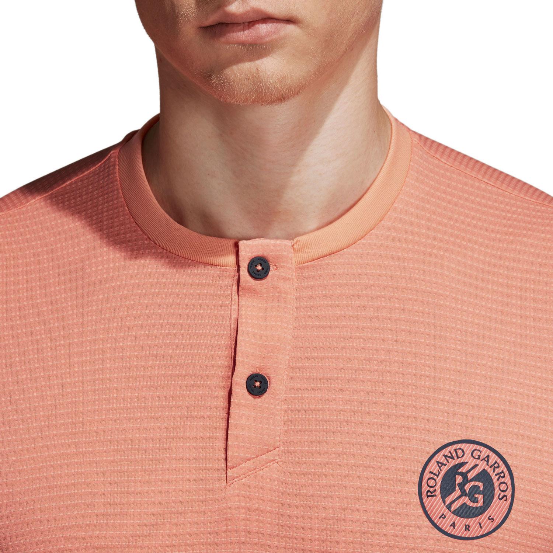 Adidas Roland Garros Climachill T-Shirt - Peach