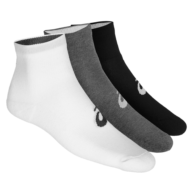 Asics Quarter x 3 Socks - Multicolor