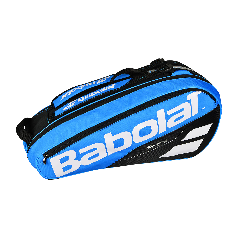 Babolat Tennis Shoes >> Babolat Pure x 6 Tennis's Bag 2018 - Blue - MisterTennis.com