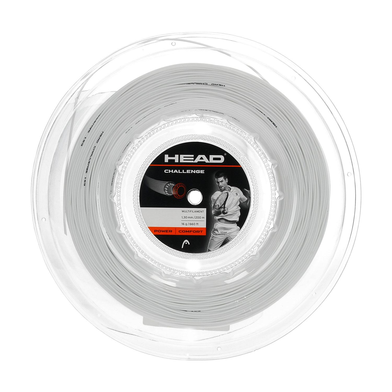 Head Challenge 1.30 200 m Reel - White