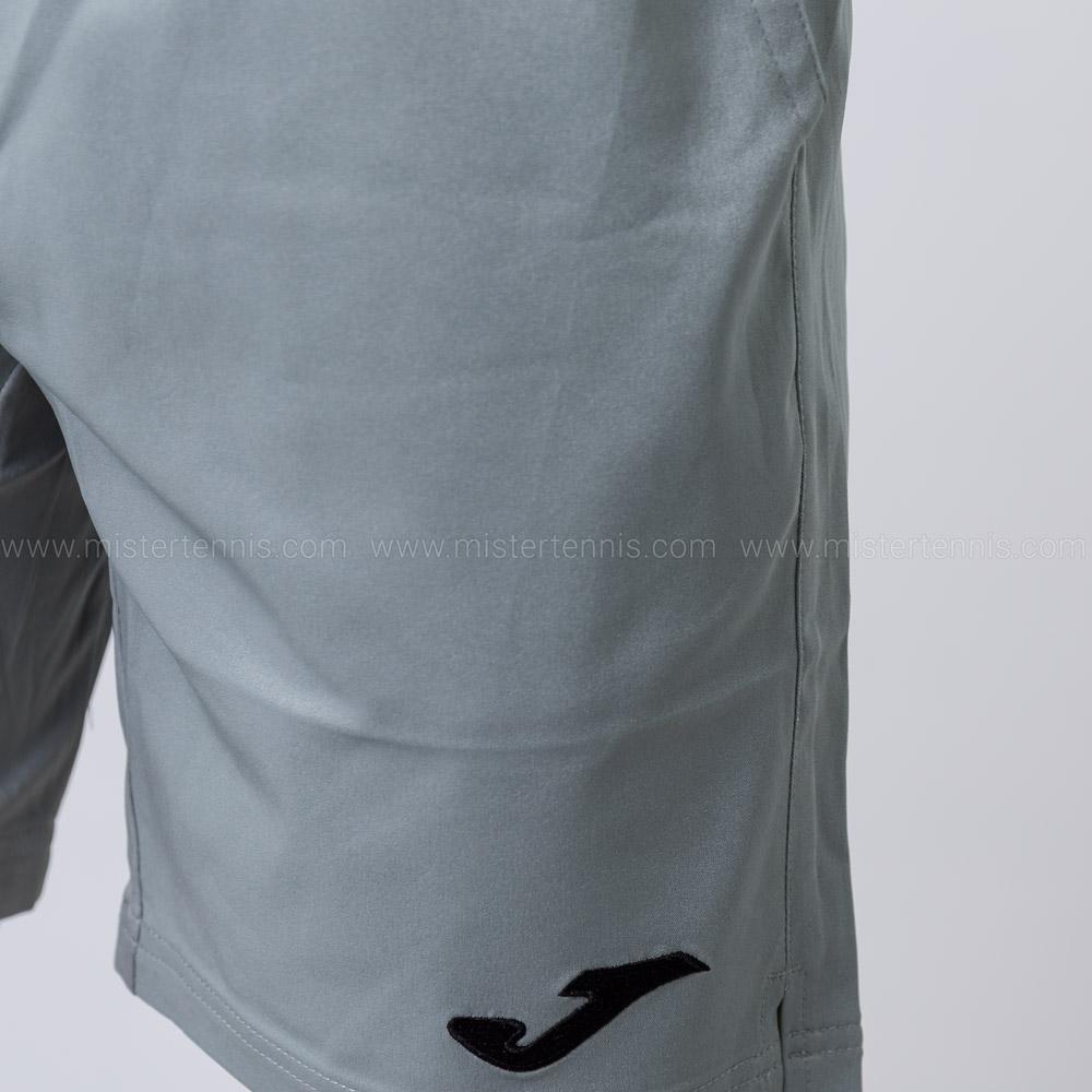 Joma Master 8in Shorts - Grey/Black