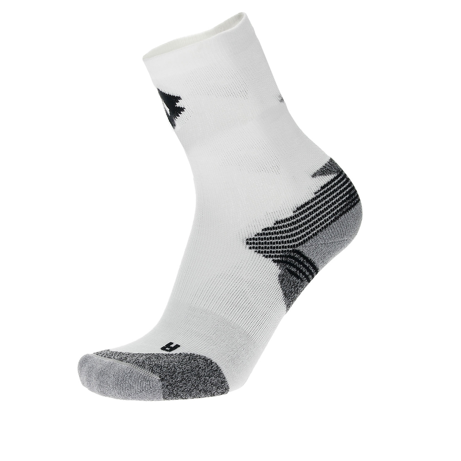 Lotto Ace Socks - White/Grey/Navy