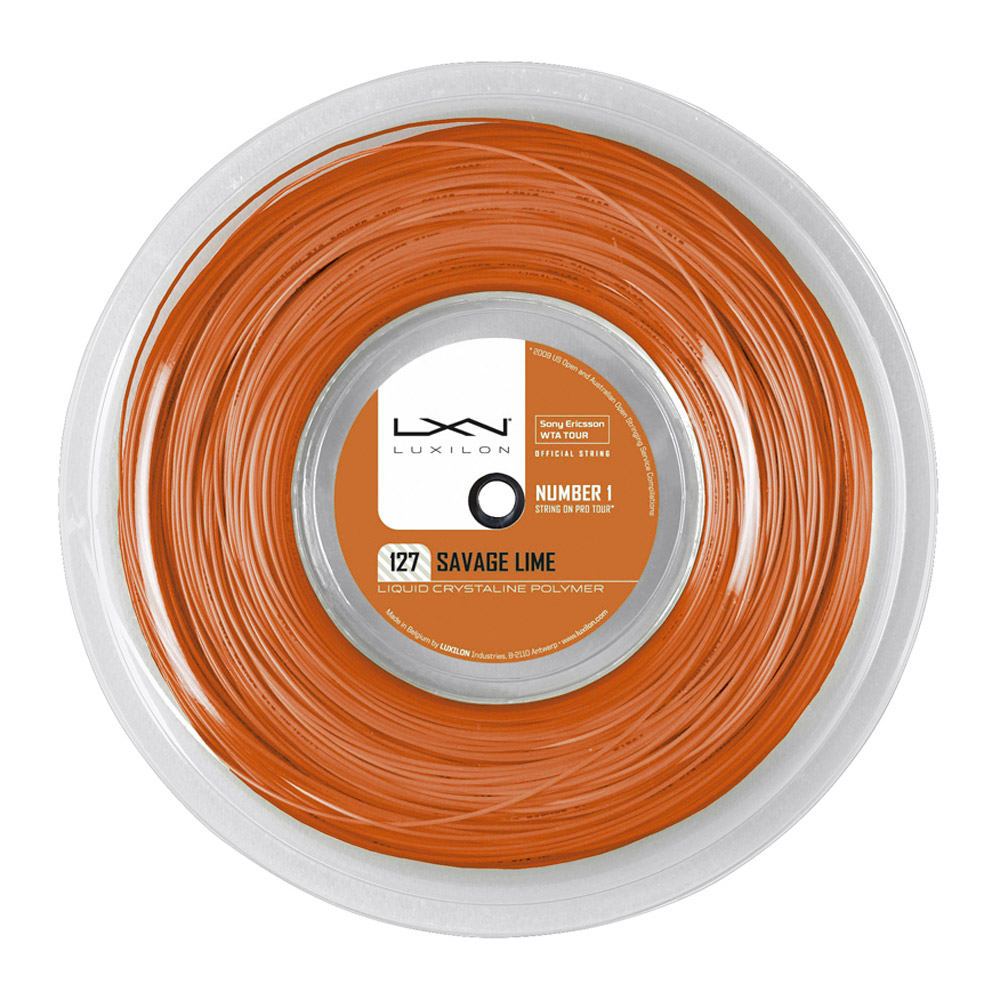 54b3a6e319fb Luxilon Savage 1.27 Bobina Tenis 200 m - Orange - MisterTennis.com