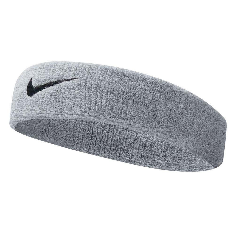 Nike Swoosh Headband - Grey/White
