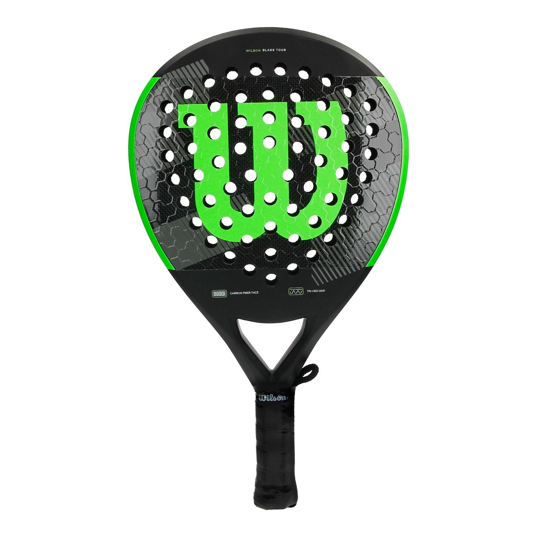 Wilson Blade Tour Padel Racket - Black/Fluo Green