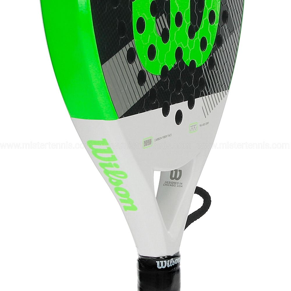 Wilson Blade Racchetta Padel - White/Fluo Green