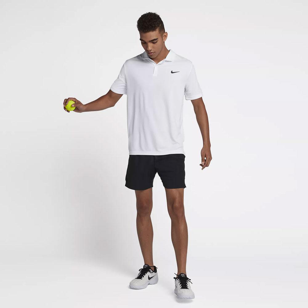 Nike Court Dry Polo - White