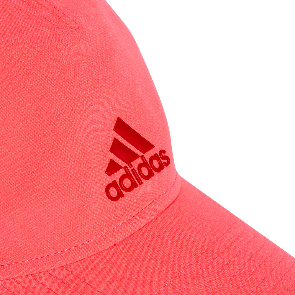 Adidas Junior 5 Panel Climalite Cap - Fluo Pink
