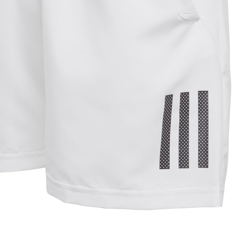 7ddc1c3e6 ... Adidas Boy Club 3 Stripes 5in Shorts - White/Black