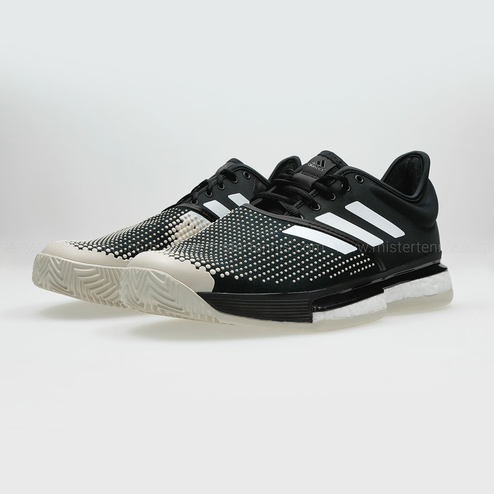 Adidas Solecourt Boost Clay Scarpe Tennis Uomo - Black