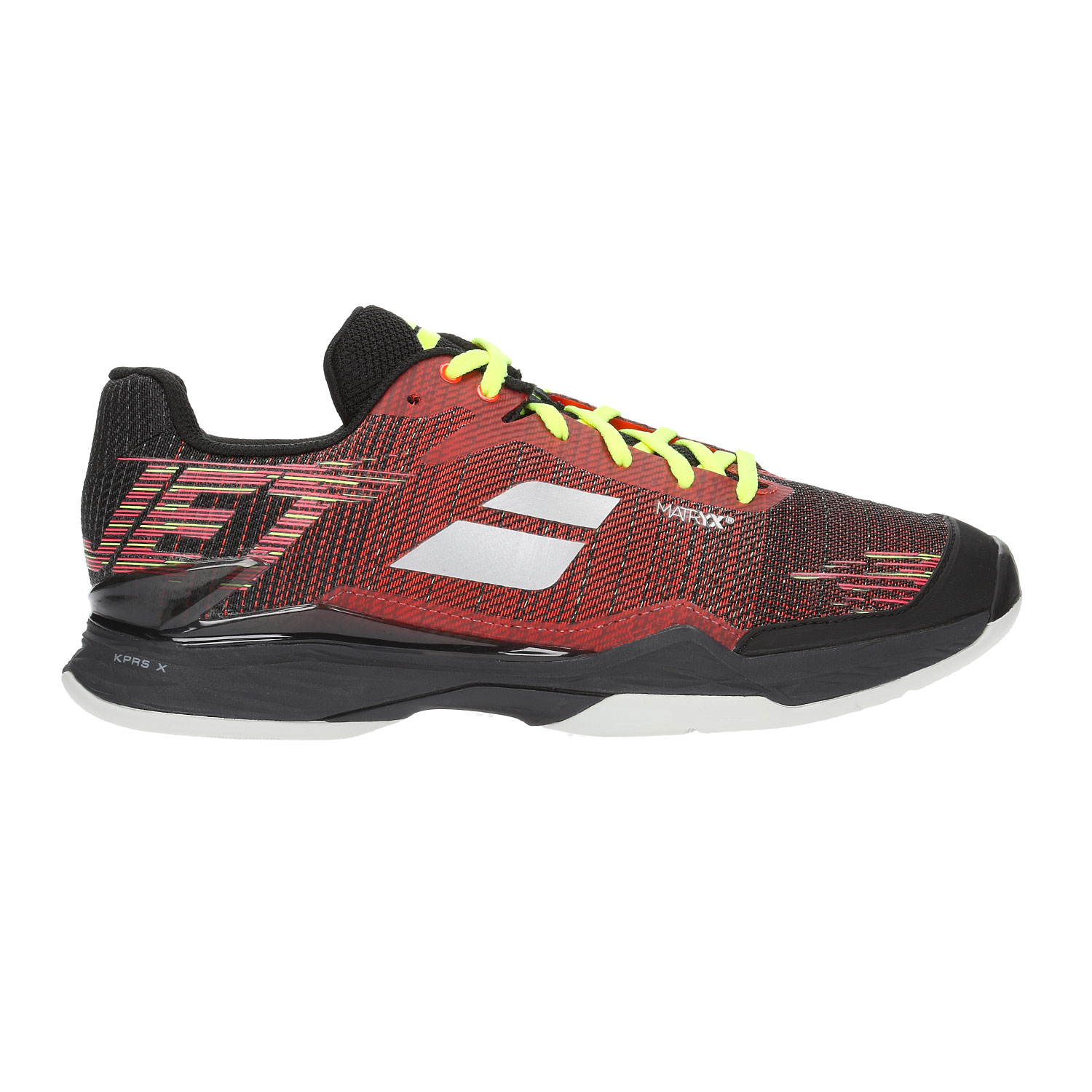 Babolat Tennis Shoes >> Babolat Jet Mach Ii Clay Men S Tennis Shoes Dark Red Black