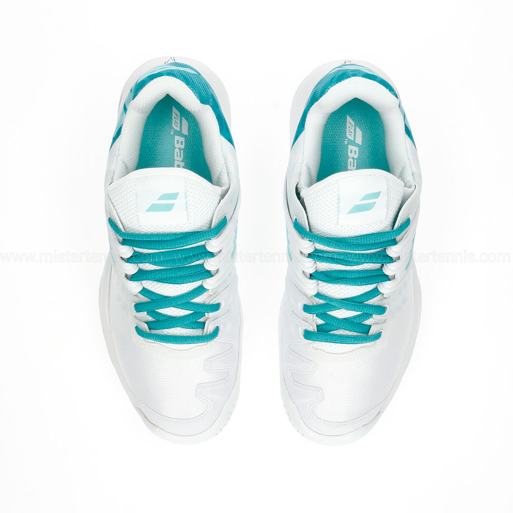 Babolat Propulse Fury All Court - White/Mint Green