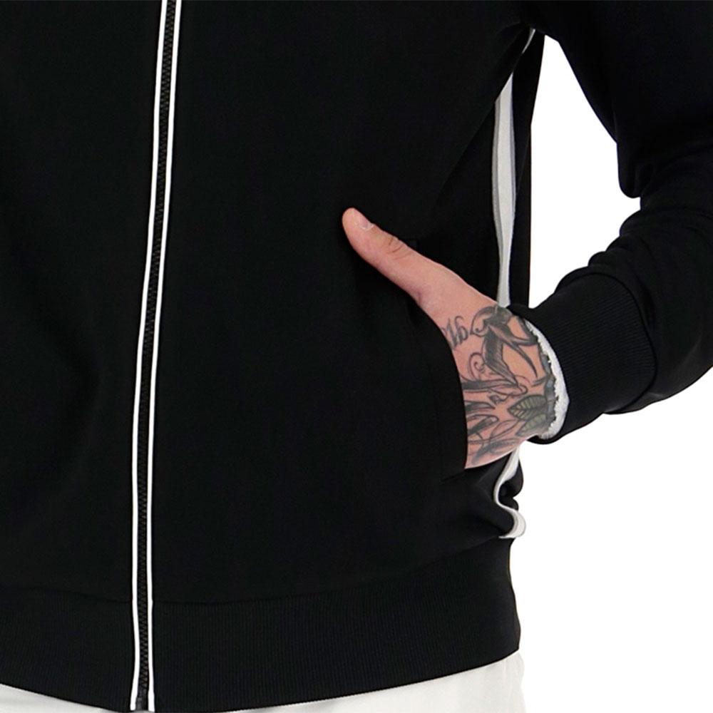 Lotto Teams Full Zip Jacket - Black