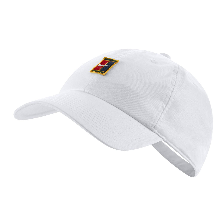 puesto Coherente asiático  Nike Court Heritage 86 Gorra de Tenis - White