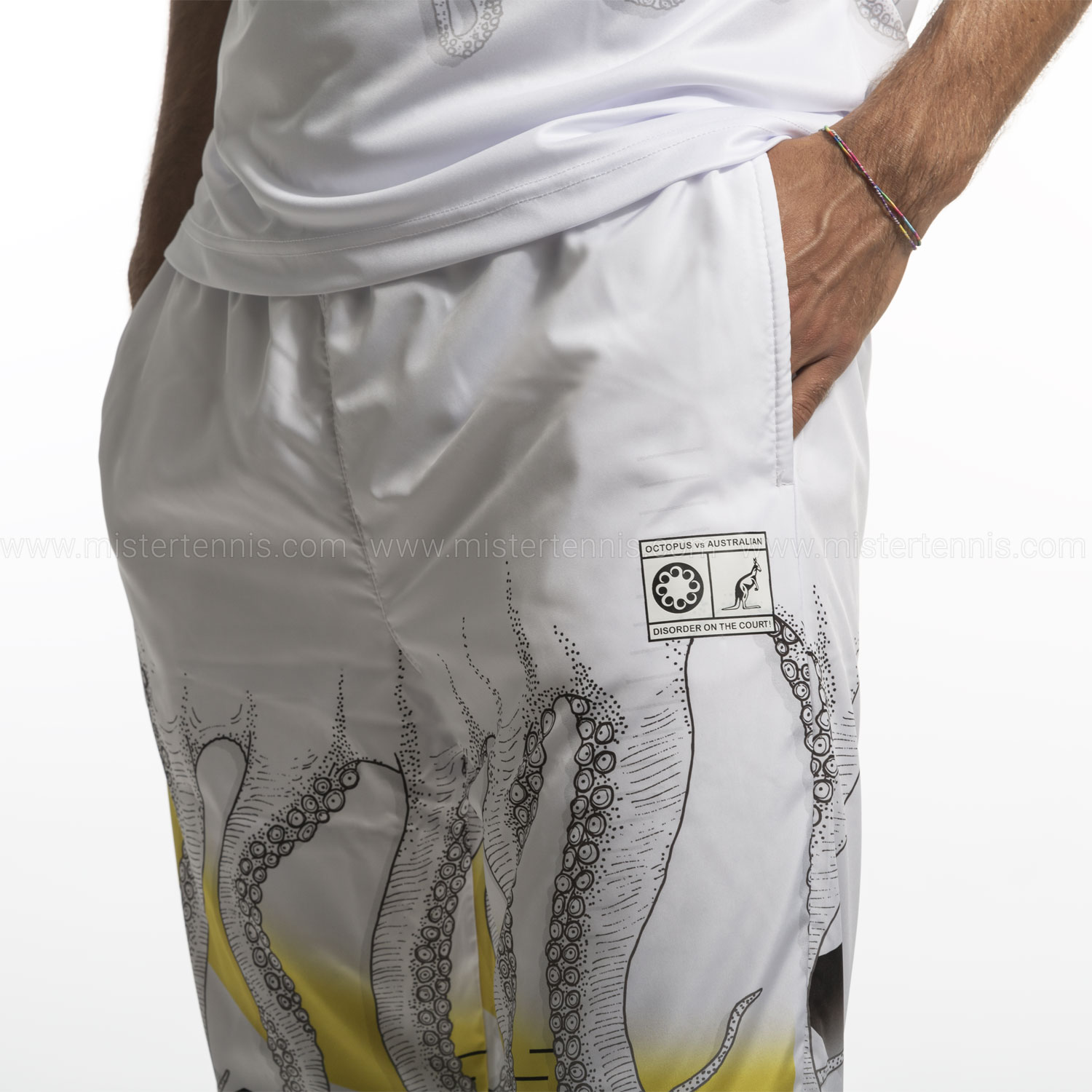 Australian for Octopus Smash Heritage Pantalones - White