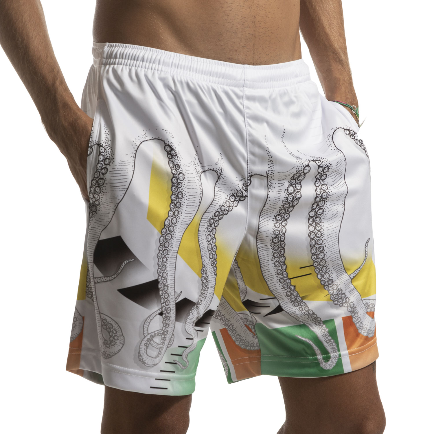 Australian for Octopus Ace Heritage 7in Shorts - White