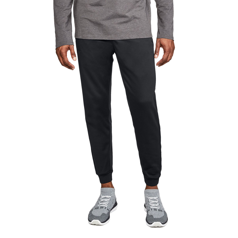 Destruir proteger Escupir  Under Armour ColdGear Fleece Pantalones Tenis Hombre - Black