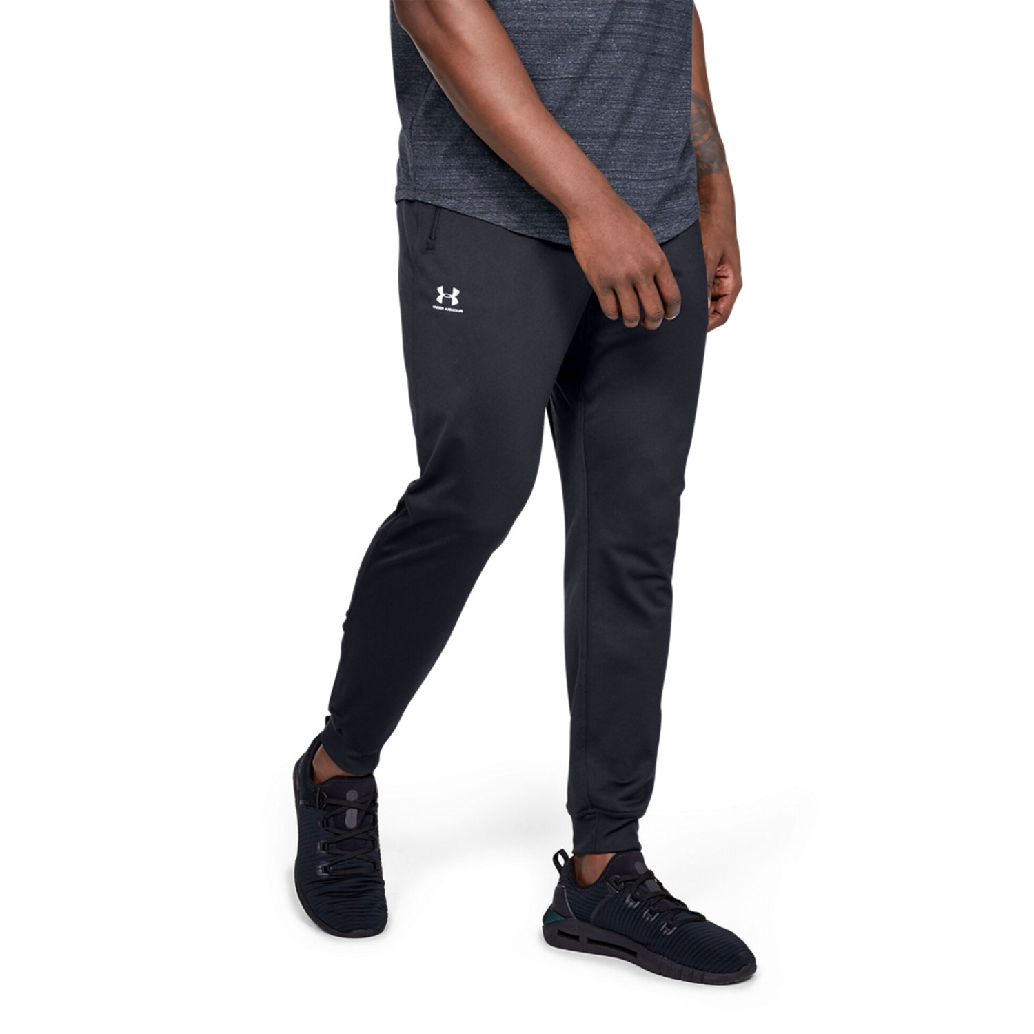 Under Armour Sportstyle Tricot Pantalones Hombre Black