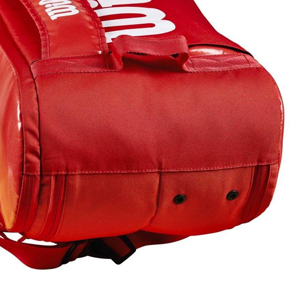 733315a456 Wilson Super Tour 2 Comp Large x 9 Tennis Bag - Red