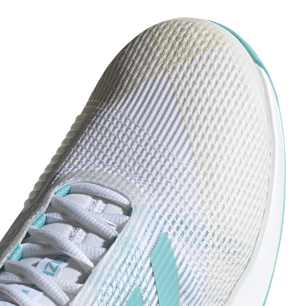 wholesale dealer be8dd 09f7f ... Adidas Adizero Ubersonic 3 Parley - WhiteLight Blue