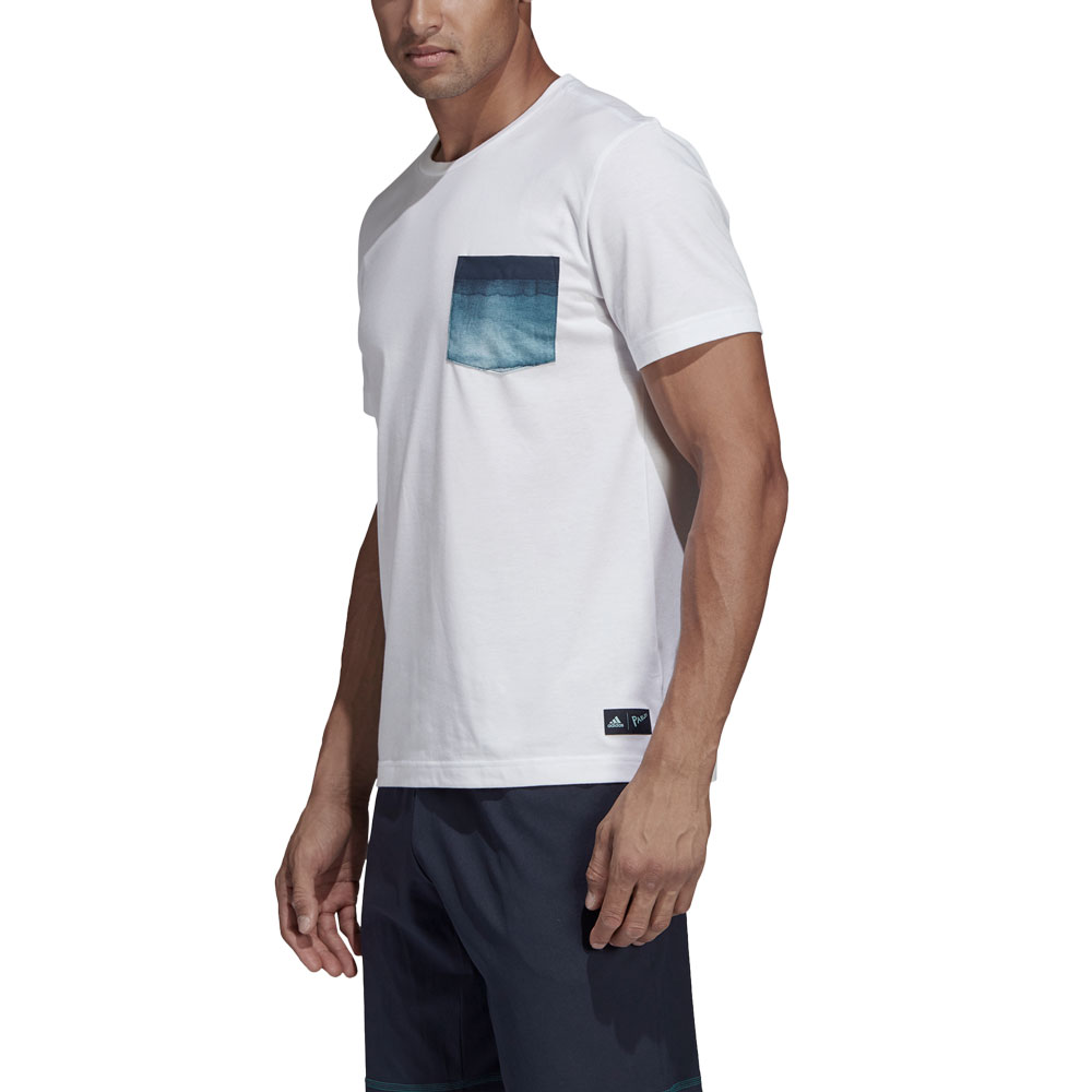 Adidas Parley Pocket T-Shirt - White