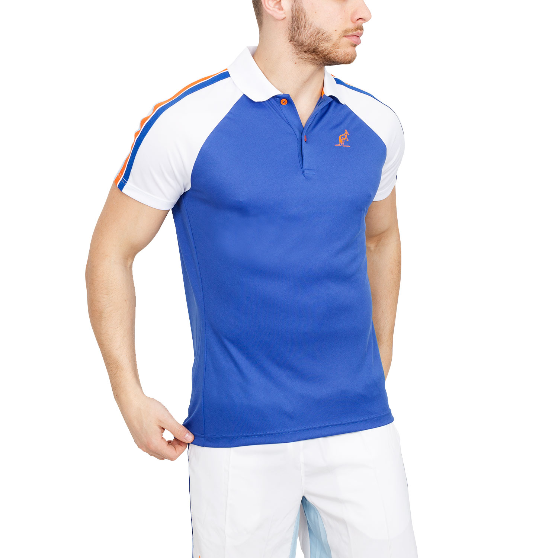 Australian Performance Ace Men S Tennis Polo Blue White