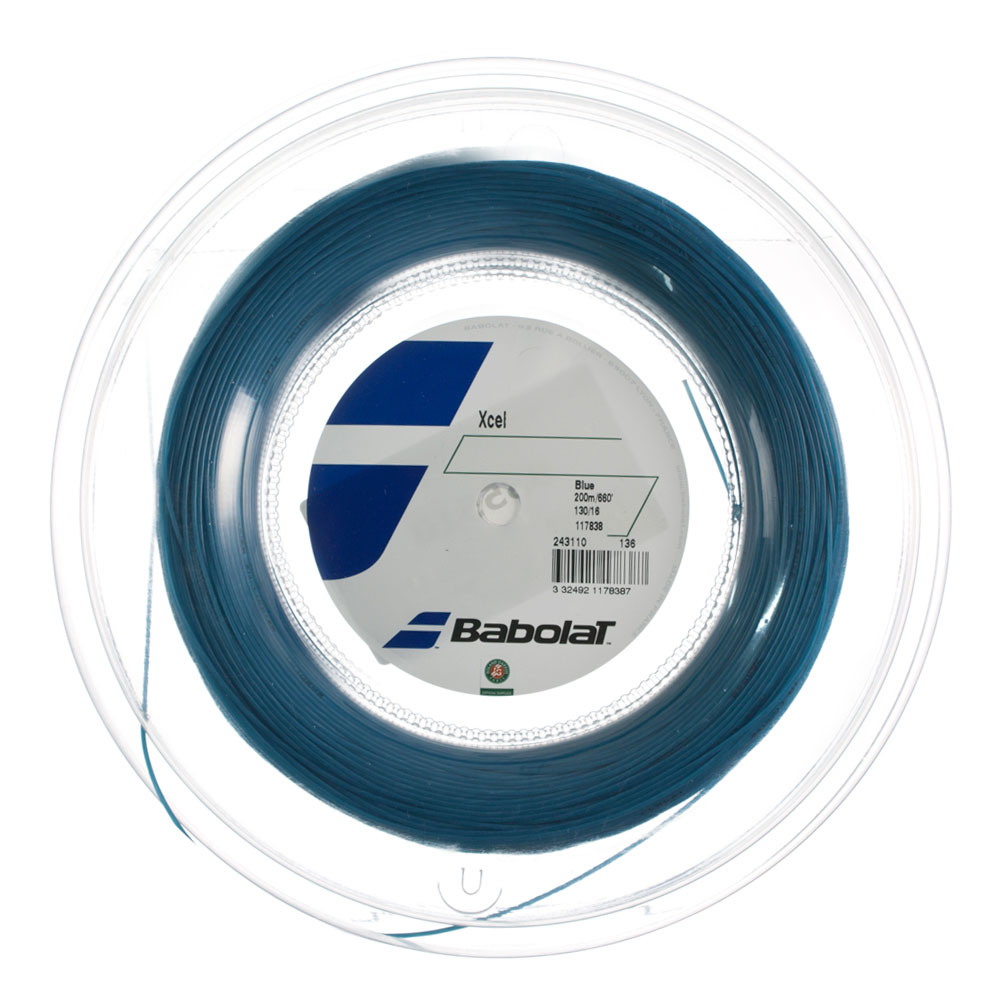 Babolat Xcel 1.30 200 m Reel - Blue