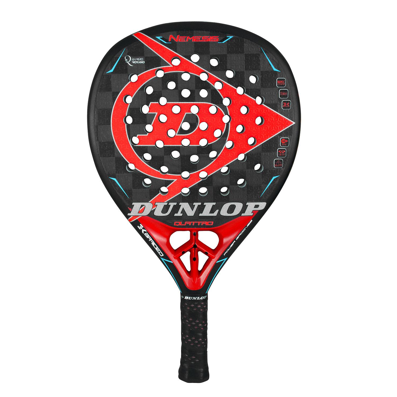 Dunlop Nemesis Moyano Padel - Black/Red