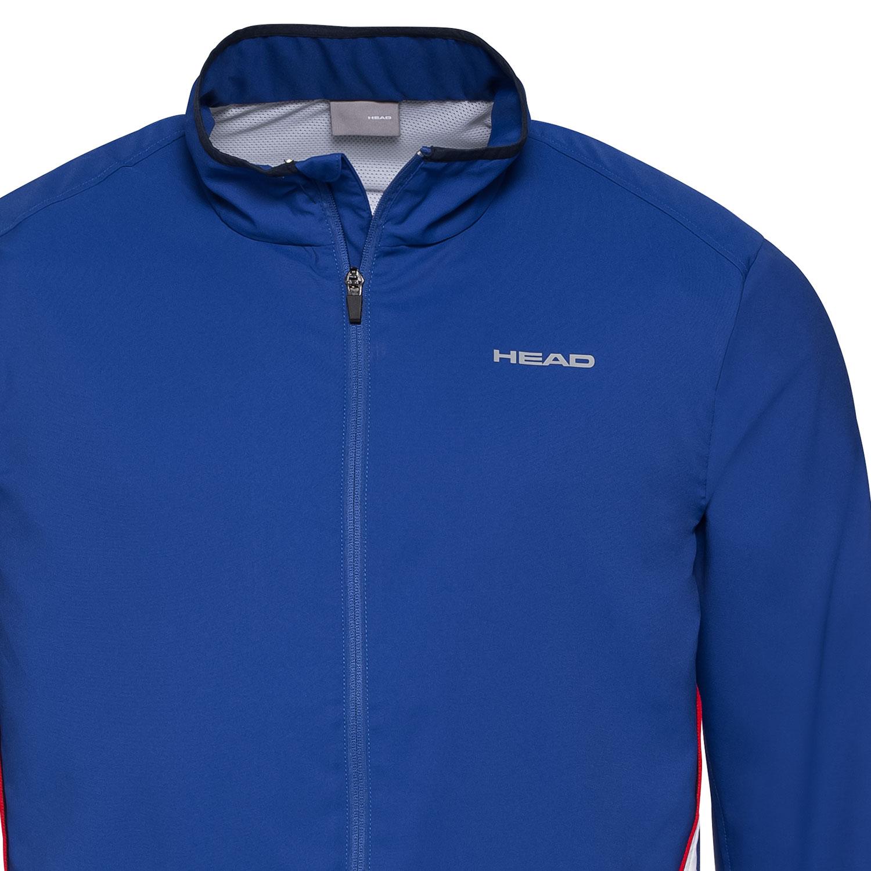 giacca tennis head con zip uomo