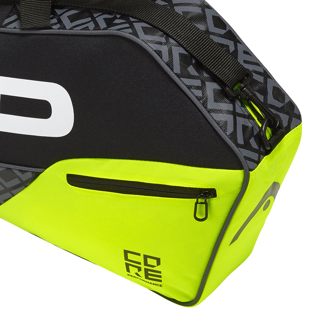 Head Core x 3 Pro Bag - Black/Lime