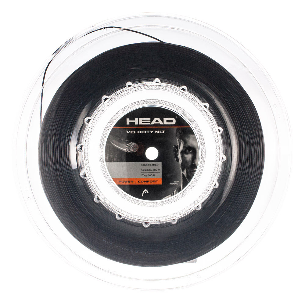 Head MultiPower Velocity 1.25 200 m Reel - Black