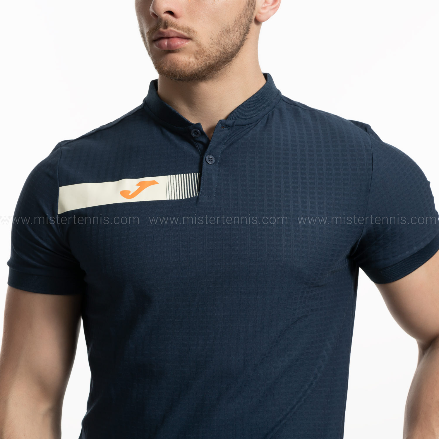 Joma Open Polo - Navy/Orange 101342.331