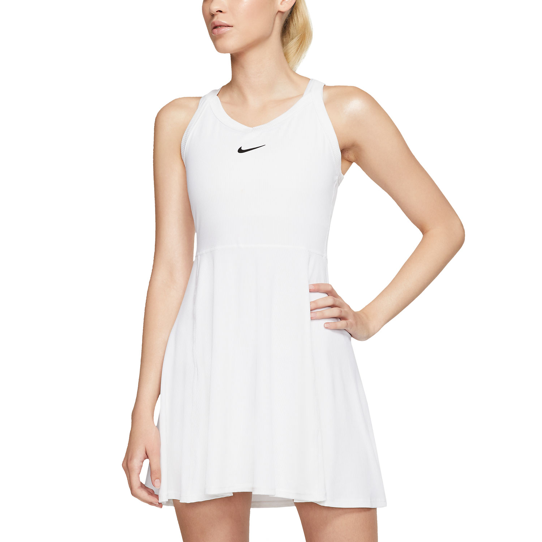 Nike Court Dri-FIT Vestido - White/Black