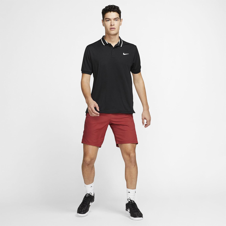 d2f5e9af0 Nike Court Dri-FIT Men's Tennis Polo - Black/White