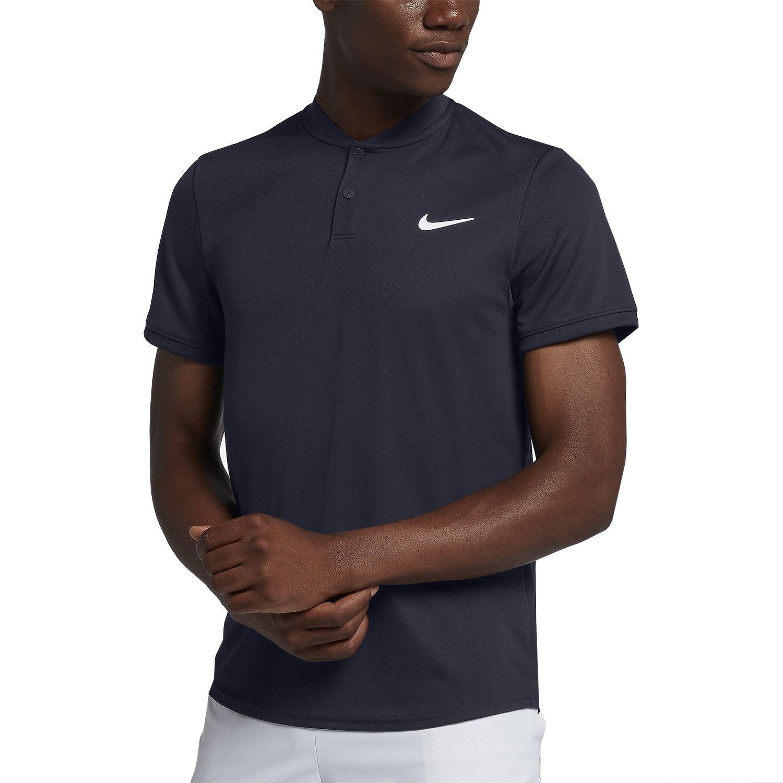 Nike Court Dry Men s Tennis Polo - Navy b0892088d8