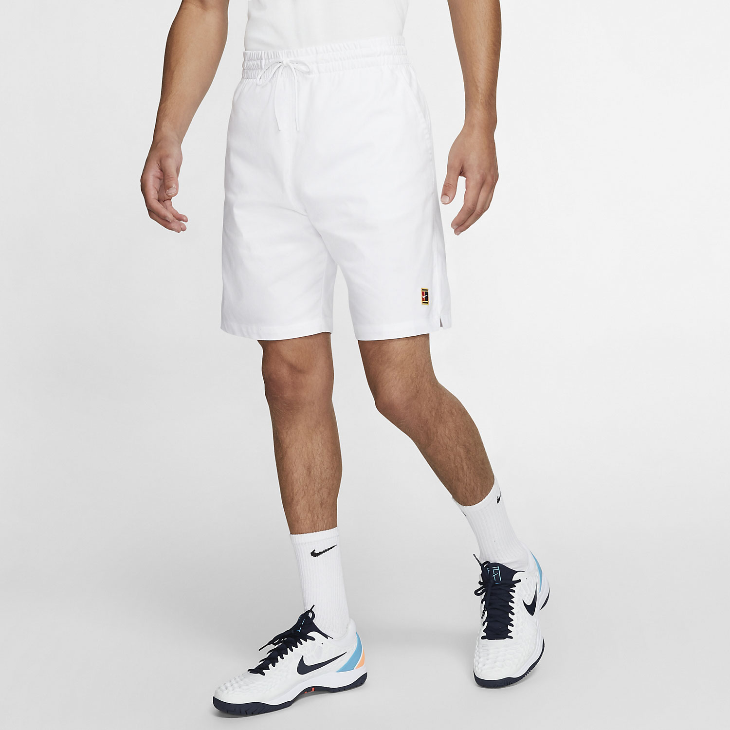 Nike Court Heritage 7in Shorts - White