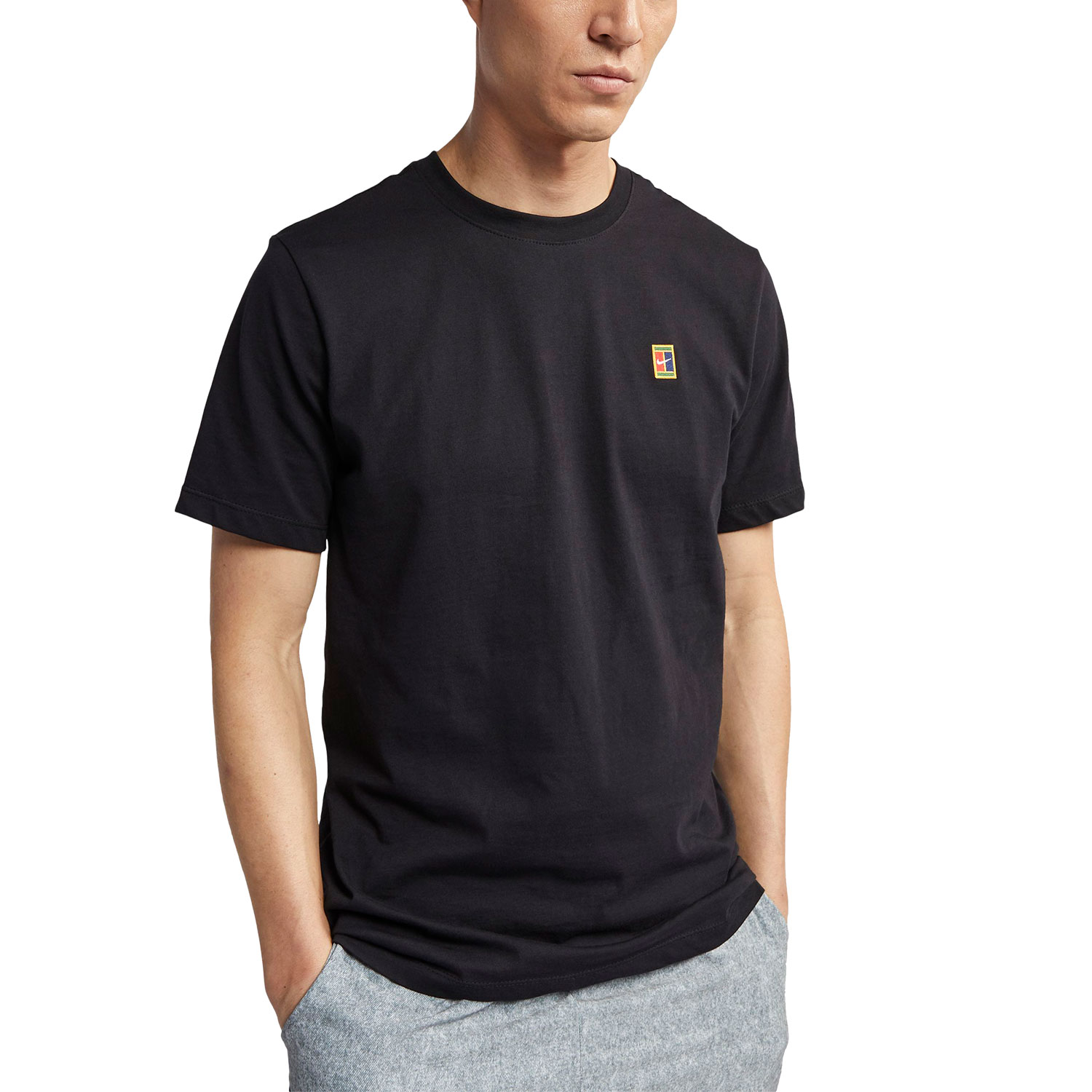 Nike Court T-Shirt - Black