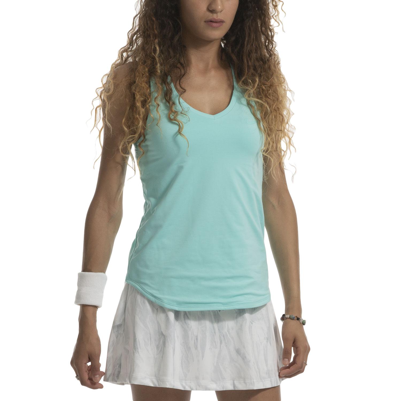 pala Divertidísimo realimentación  Nike Pure Women's Tennis Tank - Light Aqua