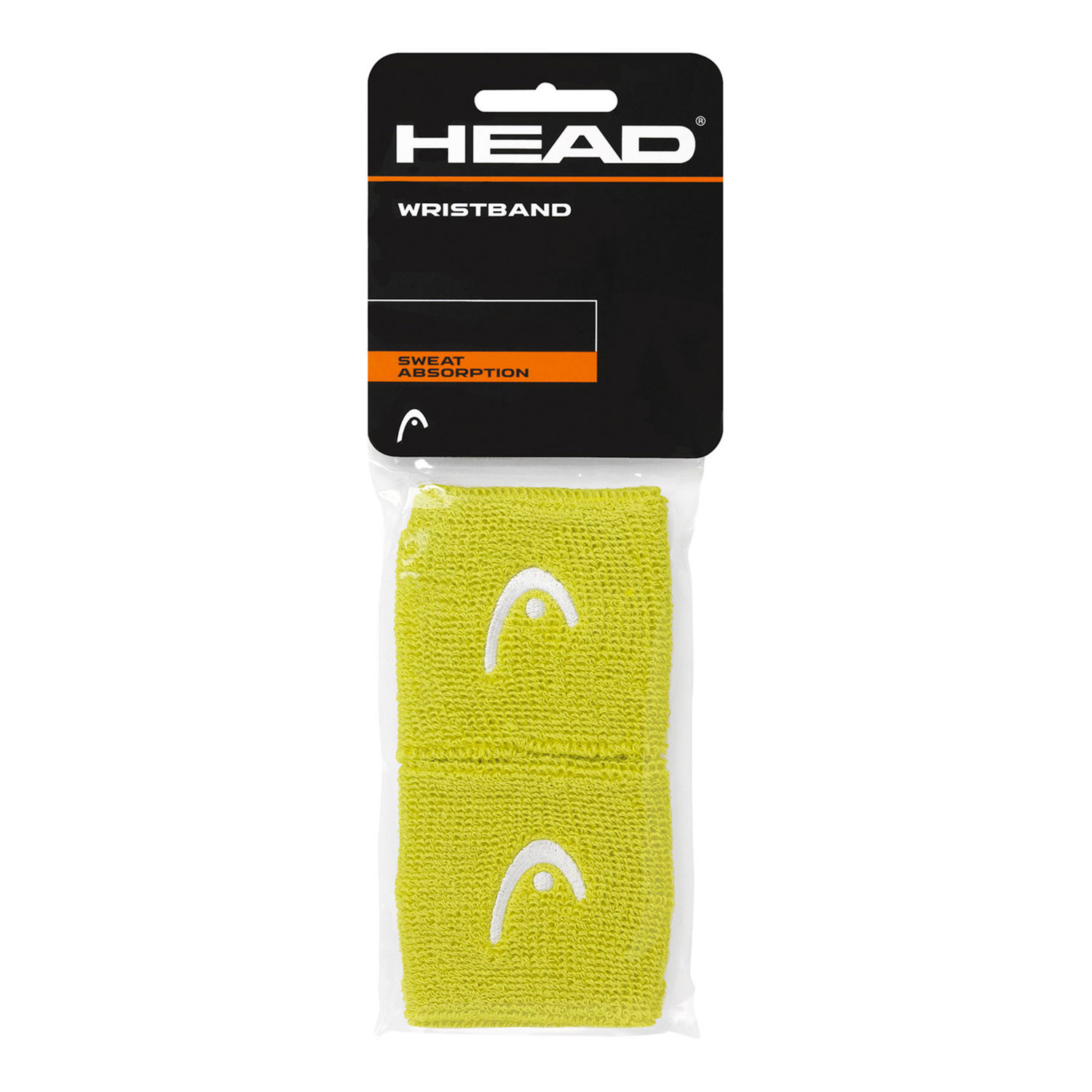 Head 2.5in Wristband - Lime/White