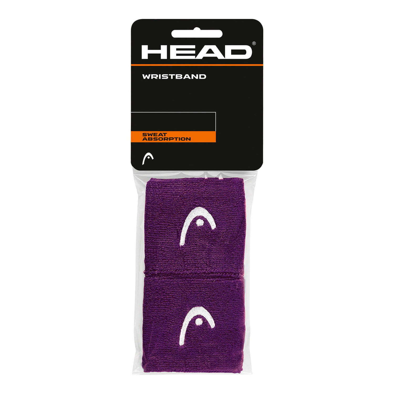 Head 2.5in Wristband - Purple/White