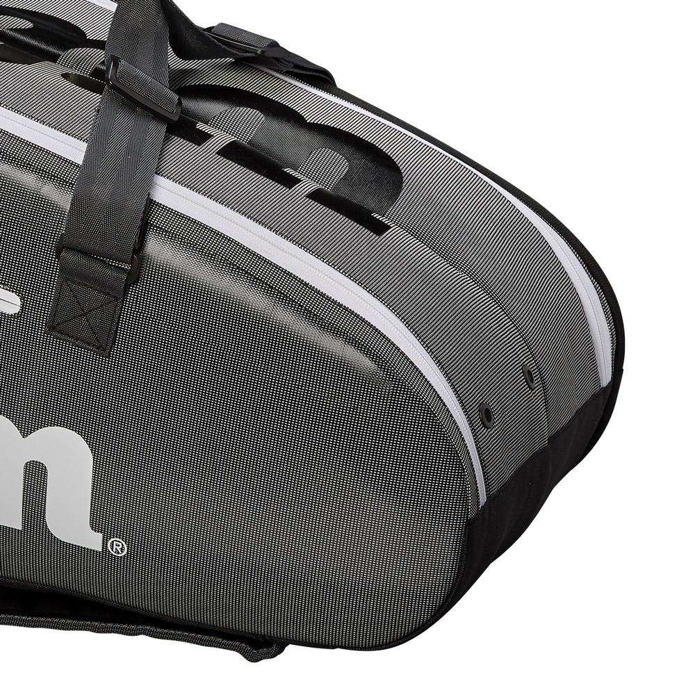 Wilson Super Tour 2 Comp Large x 9 Bag - Black/Grey