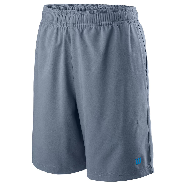 Wilson Team 7in Shorts Niño - Flint/Brilliant Blue