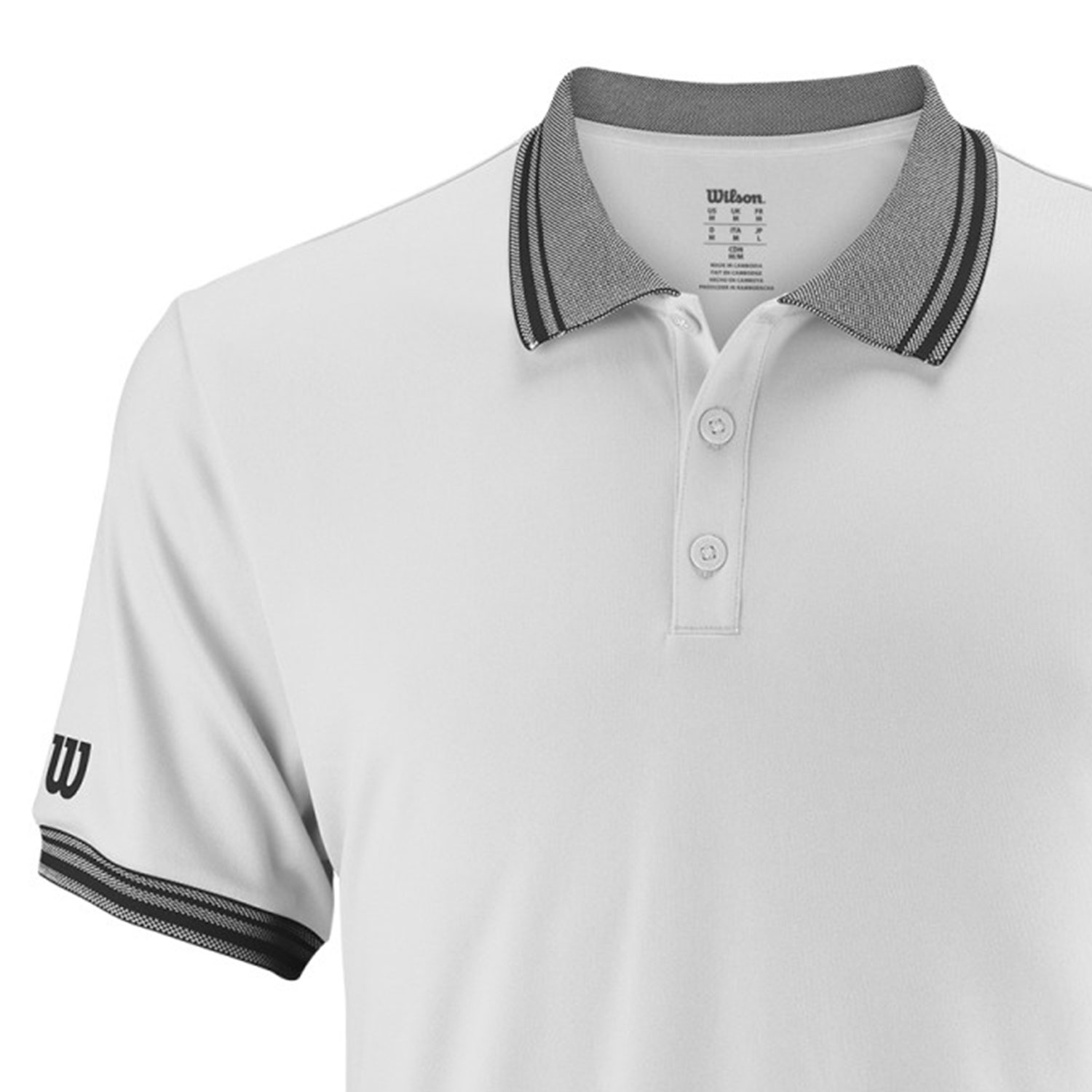 Wilson Team Polo - White