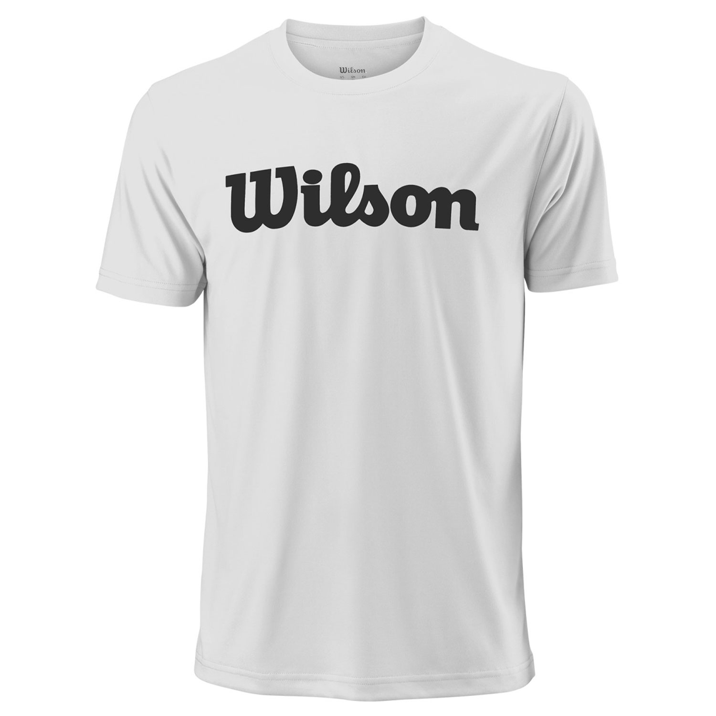 Wilson UWII Script Tech T-Shirt - White/Black