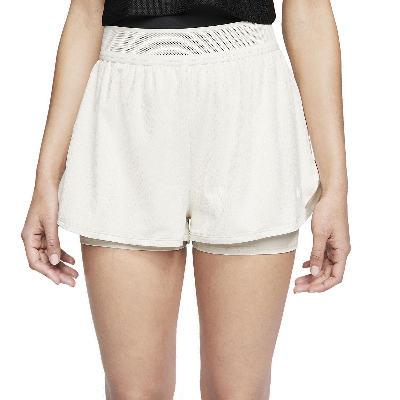 retroceder munición Principiante  Nike Flex 2 in 1 Women's Tennis Shorts - Light Orewood Brown