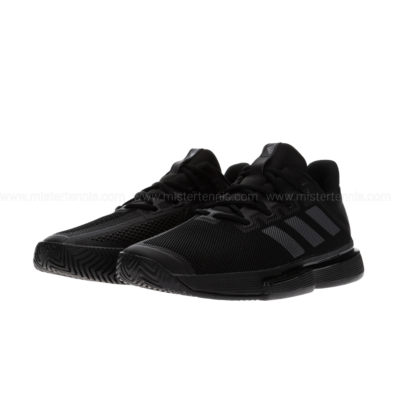 Adidas SoleMatch Bounce - Core Black/Night Metallic