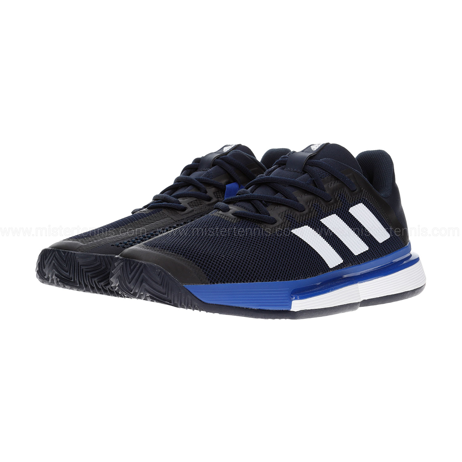 Adidas SoleMatch Bounce Clay - Legend Ink/Ftwr White/Team Royal Blue
